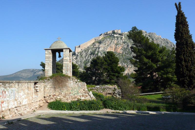 Средневековая крепость Нафплиона, Греция