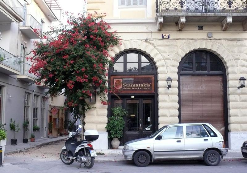 Достопримечательности Нафплиона. Улочки Старого города