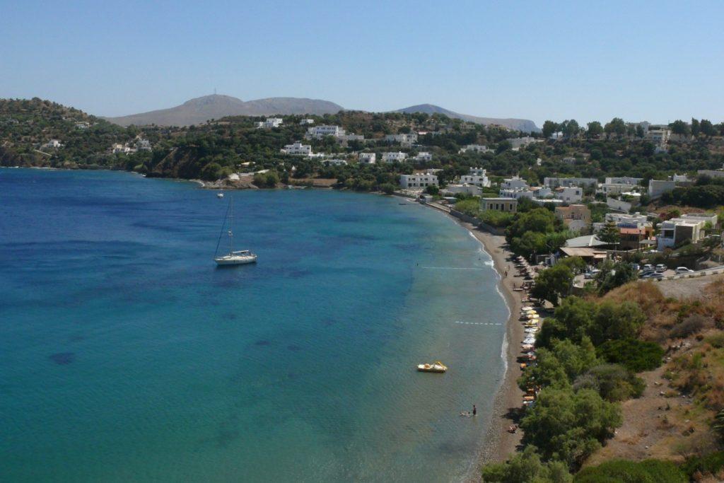 Пляж острова Лерос