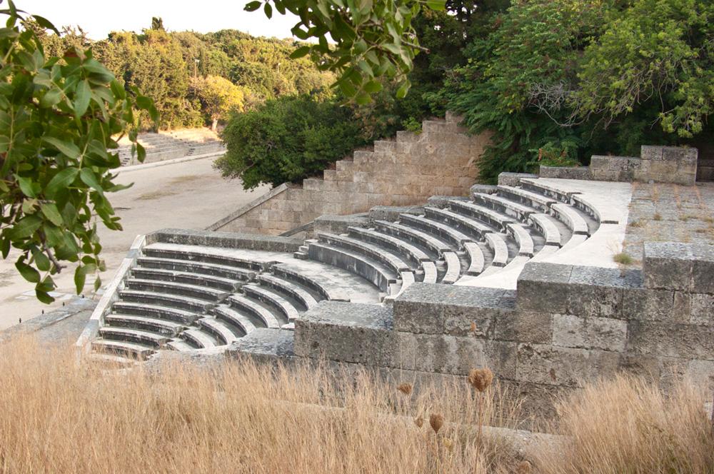 Античный театр и стадион на холме Монте-Смит