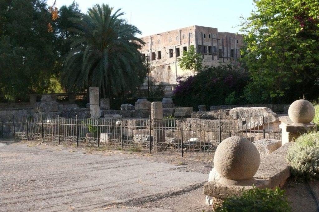 Храм Афродиты. Старый город Родоса.