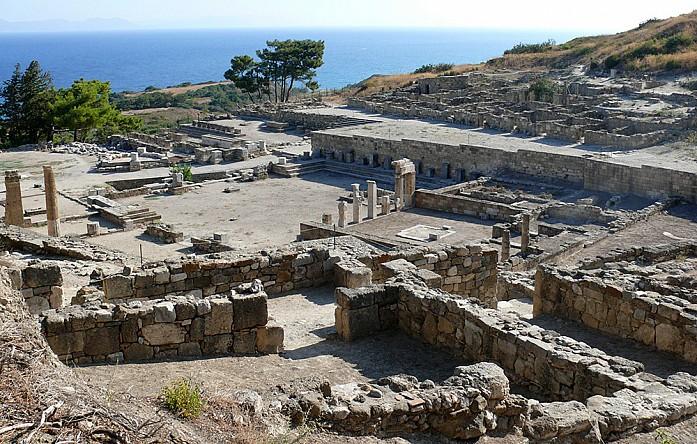 Археологическая площадка Камироса. Родос