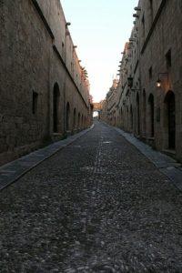 Улица Рыцарей. Старый город Родоса