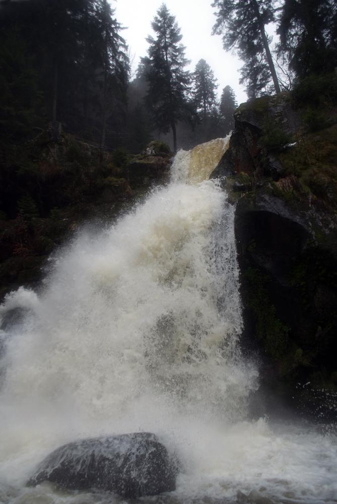 Водопад Триберг, самый высокий в Германии