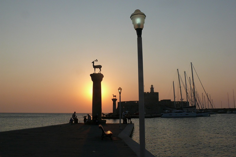 Восход над Родосом